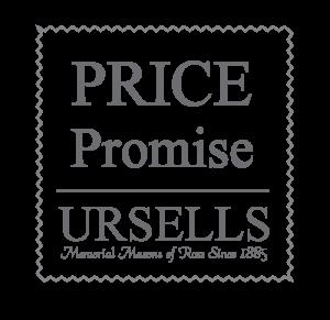 ursells price promise logos