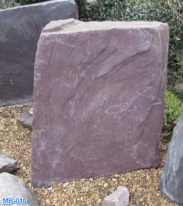 Welsh Slate Memorial Boulder