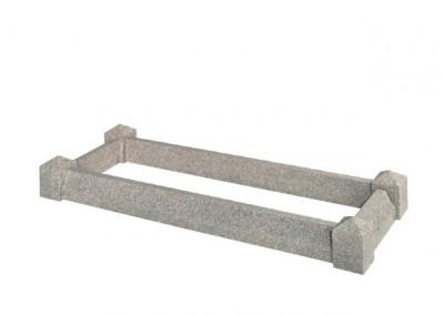 Light Grey granite kerb set