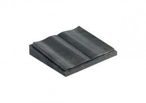 Black granite desk memorial with shaped pages