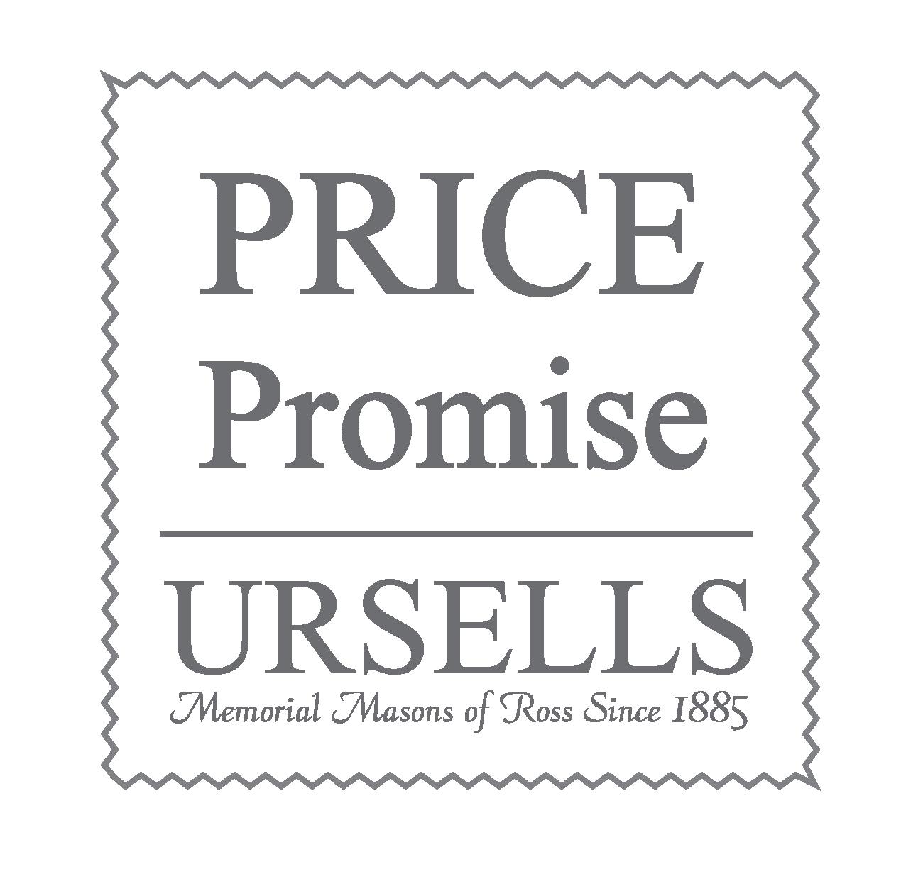 Ursells Price Promise Logo